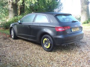 Audi A3 test car
